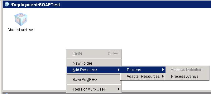 add process archive