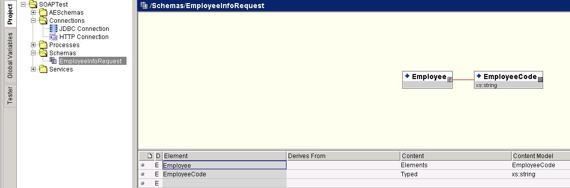 create input schema