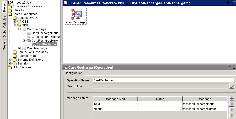 create wsdl operation