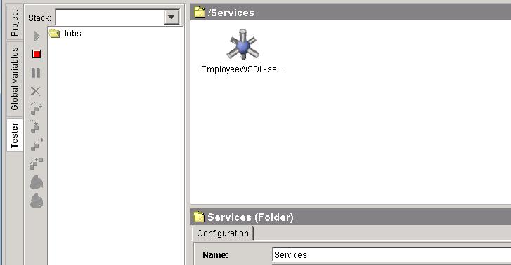 start tester for service