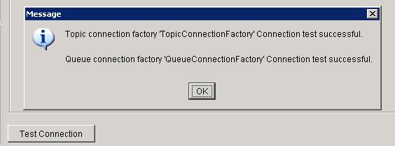 test jms connection