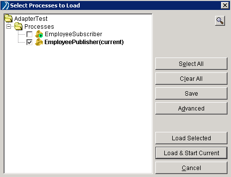 load process in tester