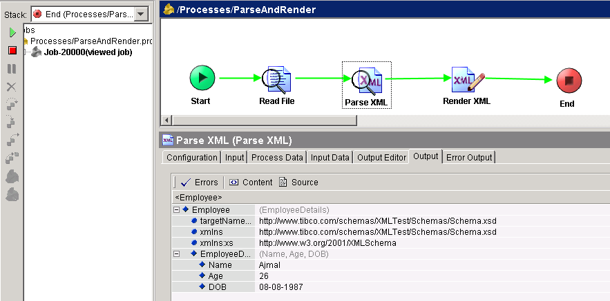 Difference Between Parse XML And Render XML Activity In