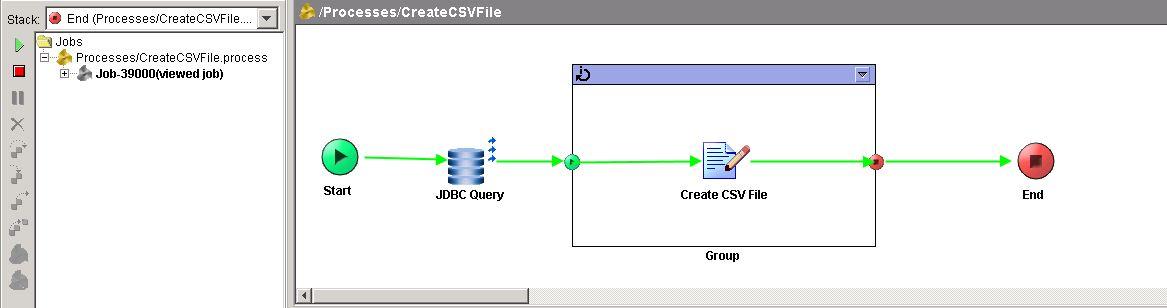 create csv tester