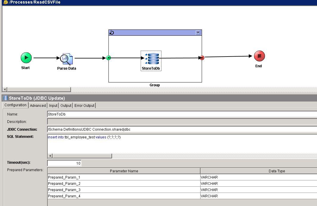 jdbc update configuration