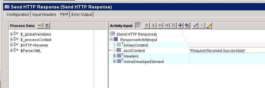 send http response input