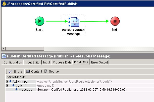 tester certified rv publish input data