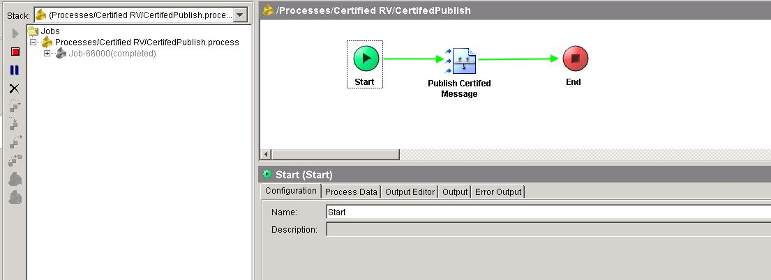 tester run only certified rv publisher process