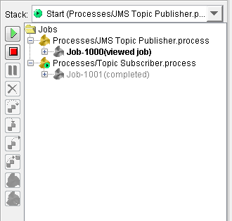 tibco ems tester processes run