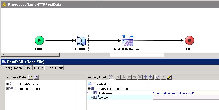 tibco http post data read xml file