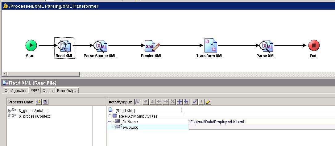 tibco xslt read xml file input