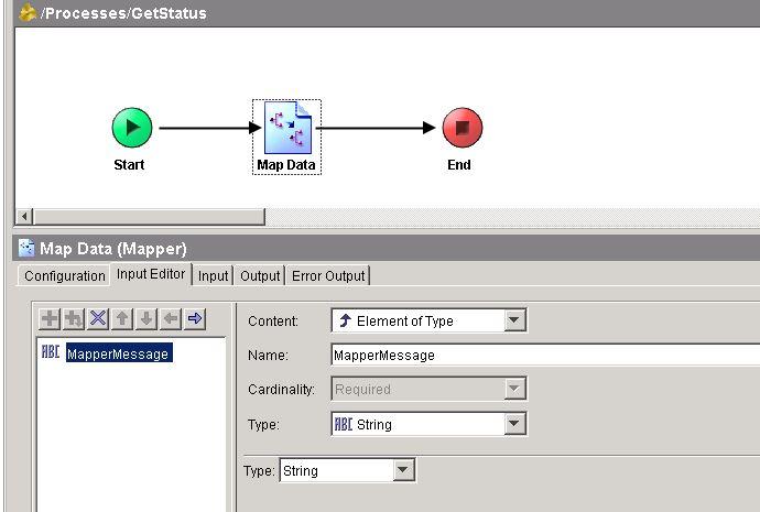 soap jms mapper input editor