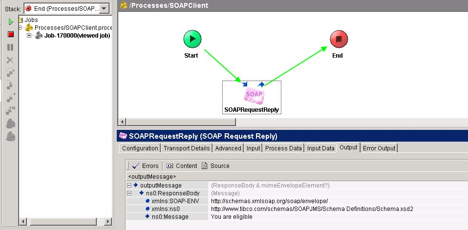 tester soap jms web service output