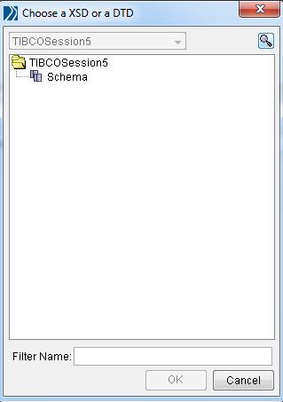 tibco xml instance choose schema