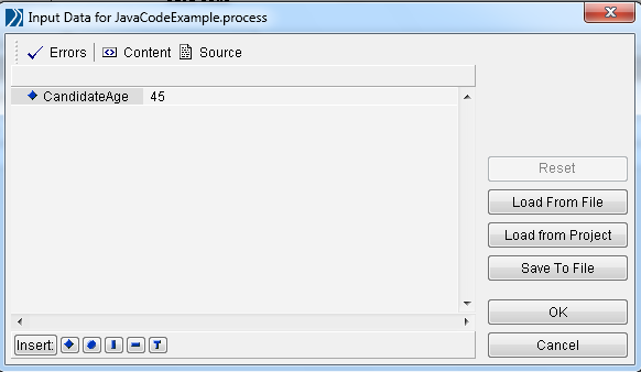 java code process start input