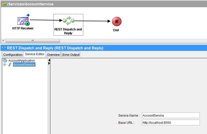 tibco rest editor service configuration