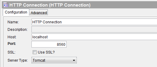 tibco restful service http connection