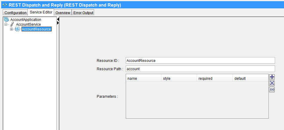 tibco restful service resource