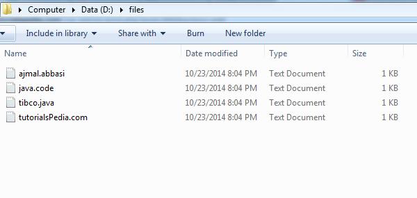 java files renamed