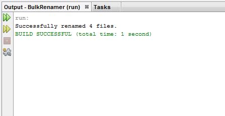 java successfully run file rename code