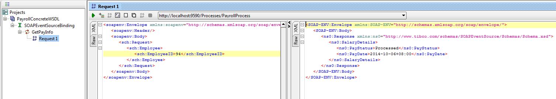 test soap event source web service using soap ui