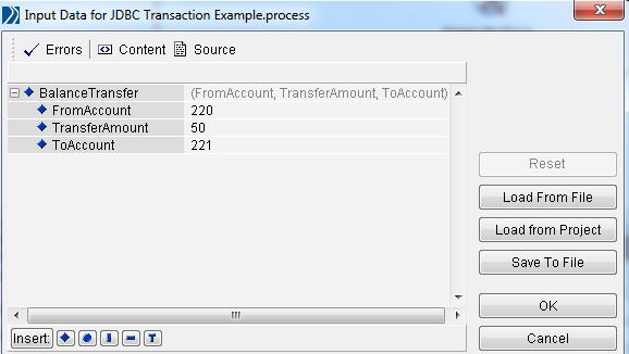 designer tester process input