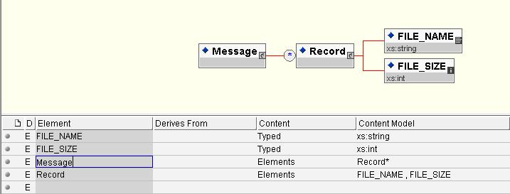 jdbc query result schema