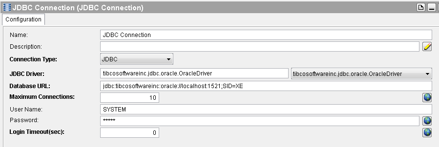 jdbc query subsets jdbc connection