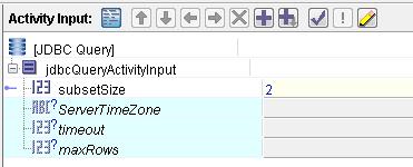 jdbc subsetSize input