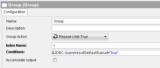 tibco repeat until true group example
