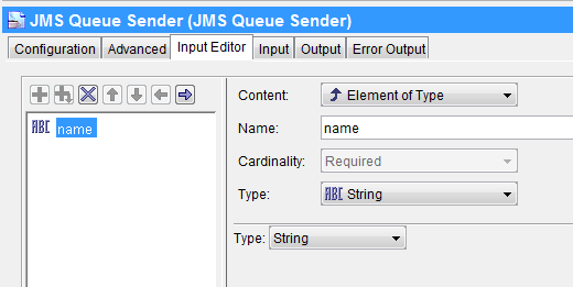 jms queue sender input editor jms selector tutorial