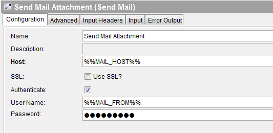tibco send mail with attachment configuration