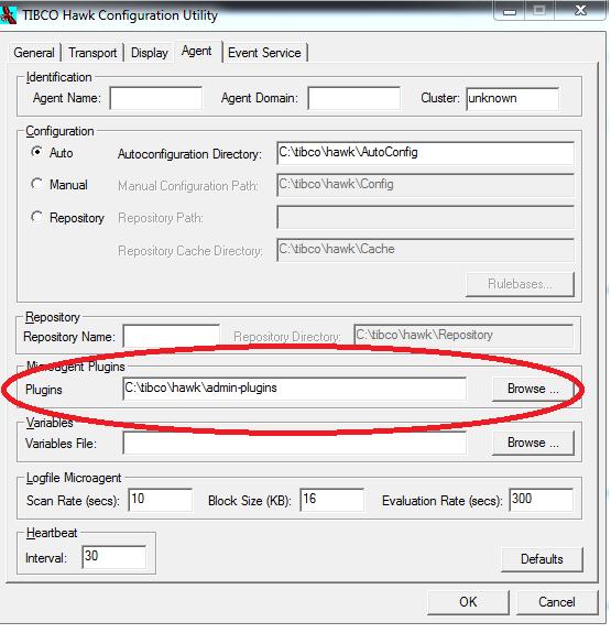 hawk configuration admin plugin directory