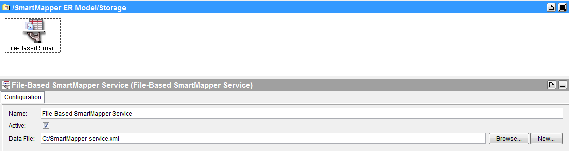 tibco smart mapper file based service