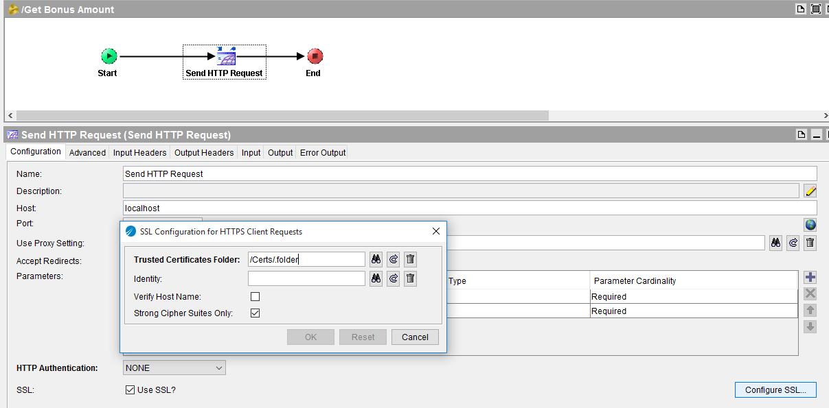https ssl enabled client process