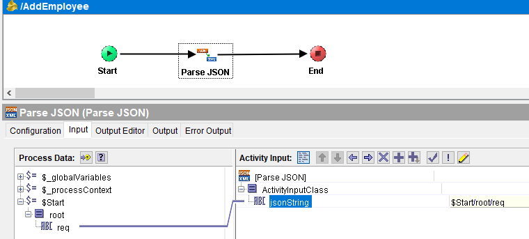JSON REST Service in TIBCO BW Step by Step Tutorial