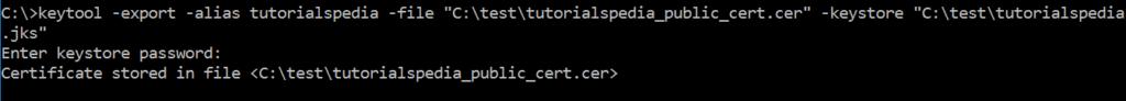 keytool java keystore certificate jks tutorial using portecle step self below learn want